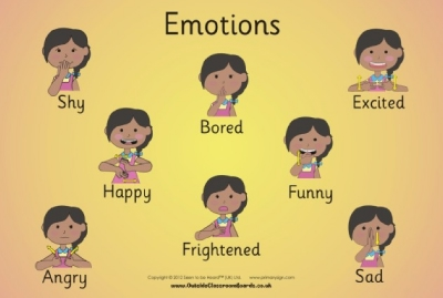 BRITISH SIGN LANGUAGE EMOTIONS