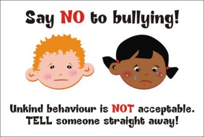 SAY NO TO BULLYING - Unkind Behaviour