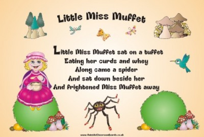 NURSERY RHYME - LITTLE MISS MUFFET