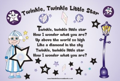 NURSERY RHYME - TWINKLE TWINKLE LITTLE STAR