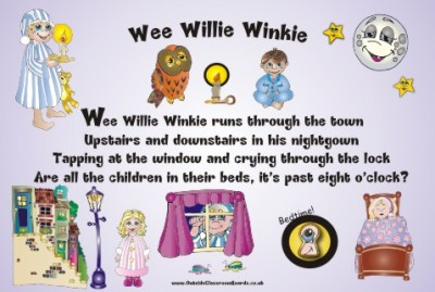 NURSERY RHYME - WEE WILLIE WINKIE