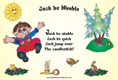 NURSERY RHYME - JACK BE NIMBLE
