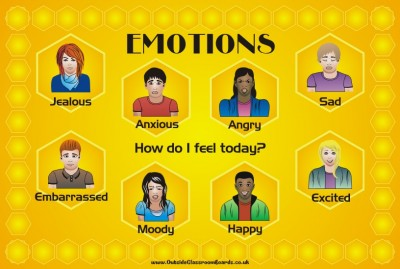 TEEN EMOTIONS BOARD