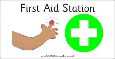 AREA SIGN - FIRST AID STATION