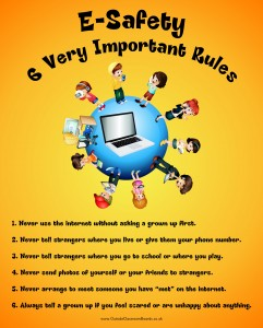 E-SAFETY 6 VERY IMPORTANT RULES
