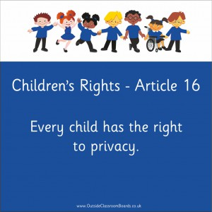 CHILDREN'S RIGHTS ARTICLE 16