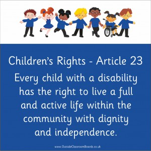 CHILDREN'S RIGHTS ARTICLE 23