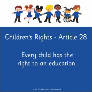 CHILDREN'S RIGHTS ARTICLE 28