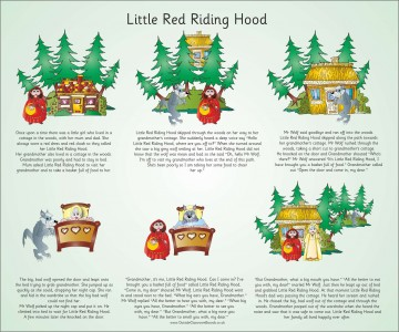 TRADITIONAL TALES - LITTLE RED RIDING HOOD