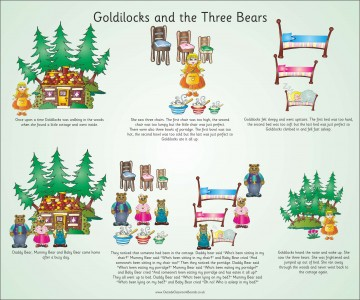 TRADITIONAL TALES - GOLDILOCKS