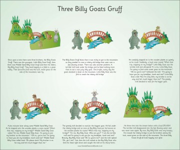 TRADITIONAL TALES - BILLY GOATS GRUFF