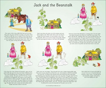 TRADITIONAL TALES - JACK & THE BEANSTALK