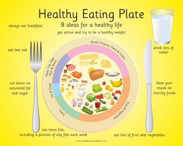 HEALTHY EATING PLATE - 8 IDEAS
