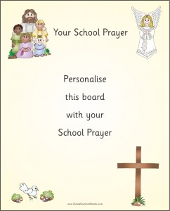 PERSONALISED SCHOOL PRAYER