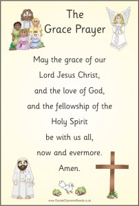 THE GRACE PRAYER
