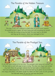 SET OF 10  PARABLES