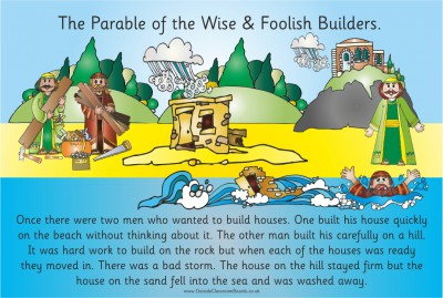 PARABLE - THE TWO BUILDERS