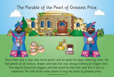 PARABLE - THE PEARL OF GREATEST PRICE
