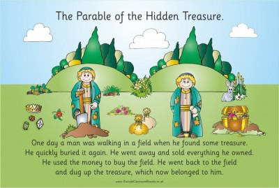 PARABLE - THE TREASURE HIDDEN IN THE FIELD