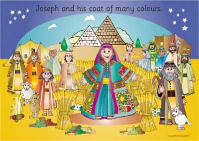 JOSEPH'S AMAZING COAT WEATHERPROOF BOARD