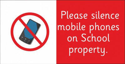 Please silence mobile phones on school property