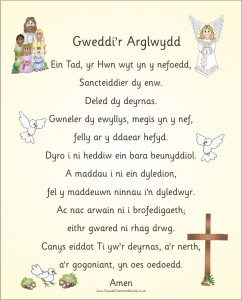WELSH LORDS PRAYER (VERSION 2)