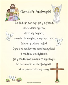 WELSH LORDS PRAYER (VERSION 1)