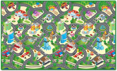 WATERPROOF CITY PLAY MAT