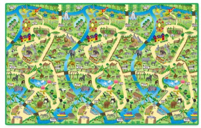 WATERPROOF ZOO PLAY MAT