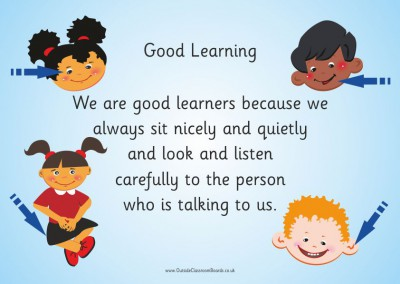 GOOD LEARNERS INTERNAL POSTER