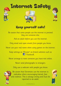 INTERNET SAFETY PAPER POSTER