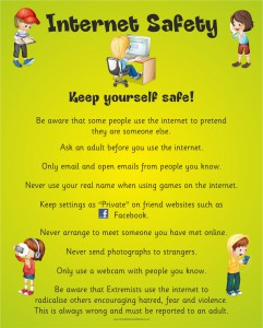 INTERNET SAFETY KEEP YOURSELF SAFE