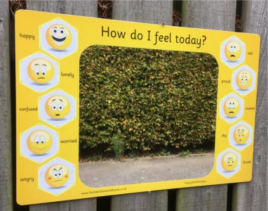 EMOJI EMOTIONS MIRROR BOARD