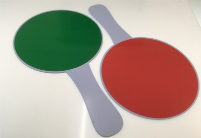 3507b Paddle Sign Green / Red