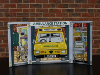 SCENE SETTER - AMBULANCE STATION