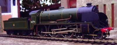 GL68 SR / BR MAUNSELL N15 KING ARTHUR 4-6-0 with 8 wheel tender