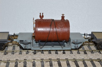 GLW01 LNWR / LMS 15 TONS CHEMICAL PAN TROLLEY