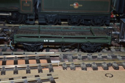 GLW17 LSWR / SR 21 FEET LOW FLOOR OPEN CARRIAGE TRUCK