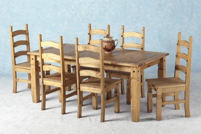 Corona Dining Set 6ft