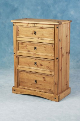 Corona 4 Drawer Chest.
