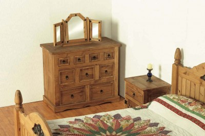 Corona Mexican Merchant 4+3+2 Drawer Chest