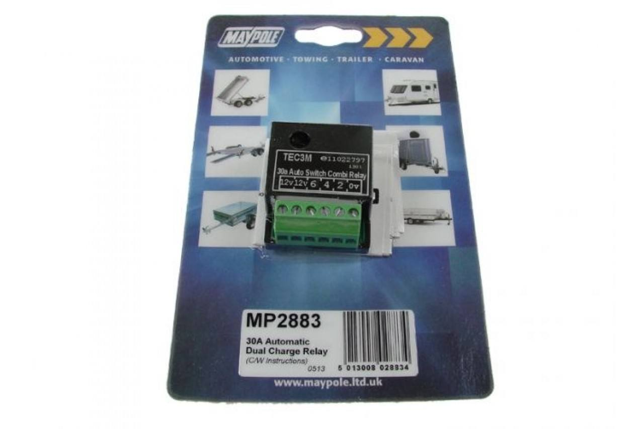 mp2883 30 Amp Self Switching Dual Charge Relay | Electrics & Site ...