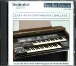 ENS4014 EASY to PLAY SENTIMENTAL BALLADS