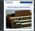 VINTAGE ORGAN REGISTRATIONS