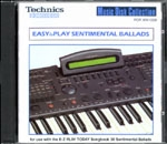 KNS1016 EASY to PLAY SENTIMENTAL BALLADS