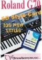 Roland G70 Style Data Card