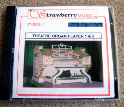 THEATRE1AND2 THEATRE ORGAN PLAYER 1 & 2 (SET)