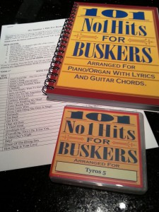 101no1sett5 101 Number 1 Hits For Buskers TYROS 5 set incl. book