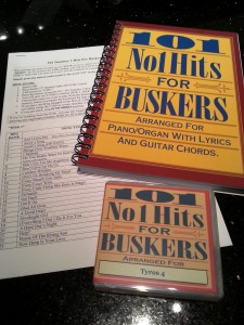 101NO1SETT4 101 Number 1 Hits For Buskers TYROS 4 with BOOK