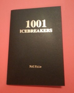 1001BLACK 1001 ICEBREAKERS BOOK - FAMILY EDITION